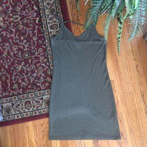 Green Topshop Bodycon Dress